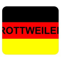 Rottweiler Name On Flag Double Sided Flano Blanket (Small)