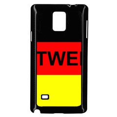 Rottweiler Name On Flag Samsung Galaxy Note 4 Case (Black)