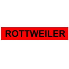 Rottweiler Name On Flag Flano Scarf (Large)