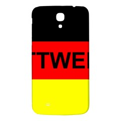 Rottweiler Name On Flag Samsung Galaxy Mega I9200 Hardshell Back Case