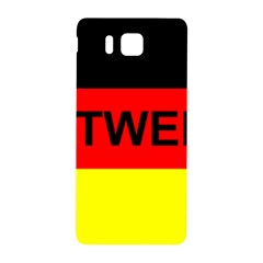 Rottweiler Name On Flag Samsung Galaxy Alpha Hardshell Back Case