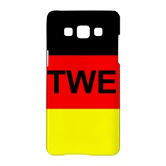 Rottweiler Name On Flag Samsung Galaxy A5 Hardshell Case