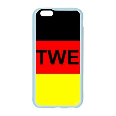 Rottweiler Name On Flag Apple Seamless iPhone 6/6S Case (Color)