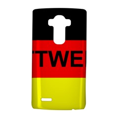 Rottweiler Name On Flag LG G4 Hardshell Case