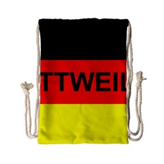 Rottweiler Name On Flag Drawstring Bag (Small)