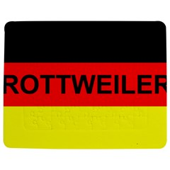 Rottweiler Name On Flag Jigsaw Puzzle Photo Stand (Rectangular)
