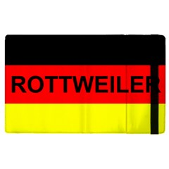 Rottweiler Name On Flag Apple iPad Pro 9.7   Flip Case