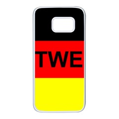 Rottweiler Name On Flag Samsung Galaxy S7 White Seamless Case