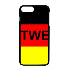 Rottweiler Name On Flag Apple iPhone 7 Plus Seamless Case (Black)