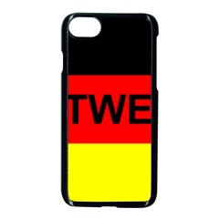 Rottweiler Name On Flag Apple iPhone 7 Seamless Case (Black)