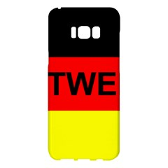 Rottweiler Name On Flag Samsung Galaxy S8 Plus Hardshell Case
