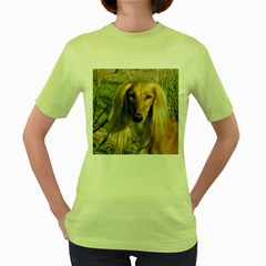 Saluki Women s Green T-Shirt