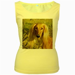 Saluki Women s Yellow Tank Top