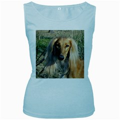 Saluki Women s Baby Blue Tank Top