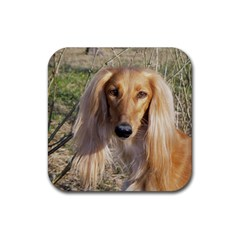 Saluki Rubber Coaster (Square)