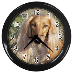 Saluki Wall Clocks (Black)