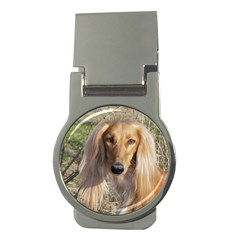 Saluki Money Clips (Round)
