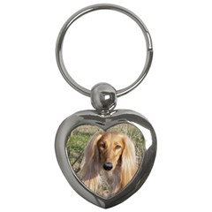 Saluki Key Chains (Heart)