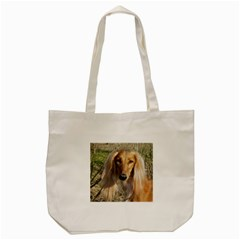 Saluki Tote Bag (Cream)