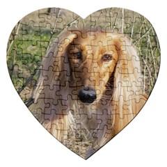 Saluki Jigsaw Puzzle (Heart)