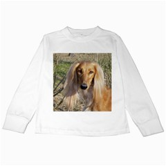 Saluki Kids Long Sleeve T-Shirts