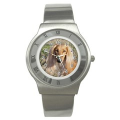 Saluki Stainless Steel Watch