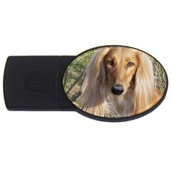 Saluki USB Flash Drive Oval (4 GB)
