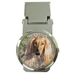 Saluki Money Clip Watches
