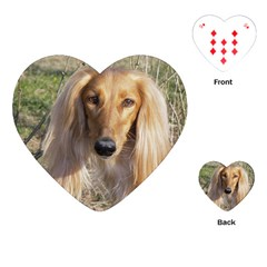 Saluki Playing Cards (Heart)