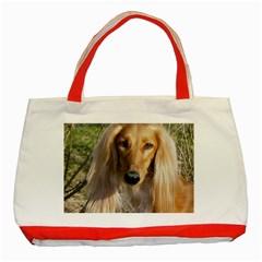 Saluki Classic Tote Bag (Red)