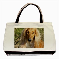 Saluki Basic Tote Bag (Two Sides)