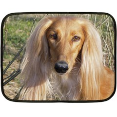 Saluki Double Sided Fleece Blanket (Mini)