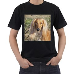 Saluki Men s T-Shirt (Black)