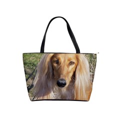 Saluki Shoulder Handbags