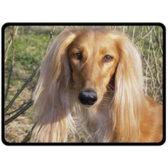 Saluki Fleece Blanket (Large)