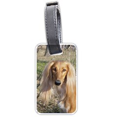 Saluki Luggage Tags (One Side)