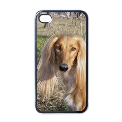 Saluki Apple iPhone 4 Case (Black)