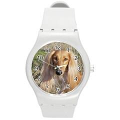 Saluki Round Plastic Sport Watch (M)