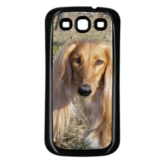 Saluki Samsung Galaxy S3 Back Case (Black)