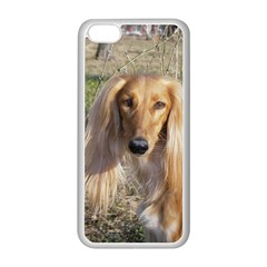 Saluki Apple iPhone 5C Seamless Case (White)