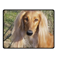 Saluki Double Sided Fleece Blanket (Small)