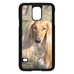 Saluki Samsung Galaxy S5 Case (Black)