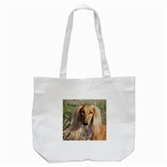 Saluki Tote Bag (White)