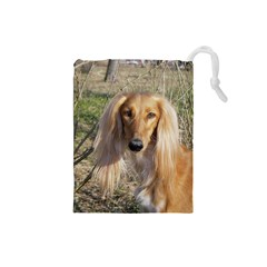 Saluki Drawstring Pouches (Small)