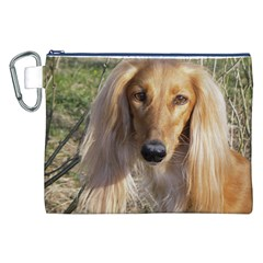 Saluki Canvas Cosmetic Bag (XXL)