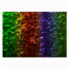 Multi Color Magical Unicorn Rainbow Shimmering Mother of Pearl Large Glasses Cloth (2-Side)
