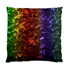 Multi Color Magical Unicorn Rainbow Shimmering Mother of Pearl Standard Cushion Case (Two Sides)
