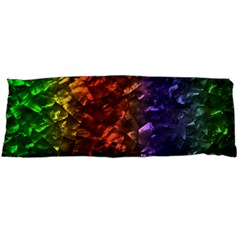 Multi Color Magical Unicorn Rainbow Shimmering Mother of Pearl Body Pillow Case Dakimakura (Two Sides)