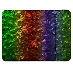 Multi Color Magical Unicorn Rainbow Shimmering Mother of Pearl Samsung Galaxy Tab 7  P1000 Flip Case