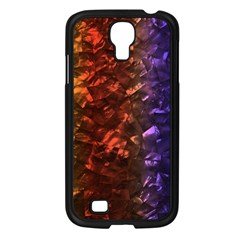 Multi Color Magical Unicorn Rainbow Shimmering Mother of Pearl Samsung Galaxy S4 I9500/ I9505 Case (Black)